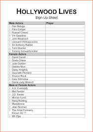 15 sign in sheet template free survey template words