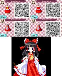 acnl qr code 16 reimu hakurei by plucky nova on deviantart