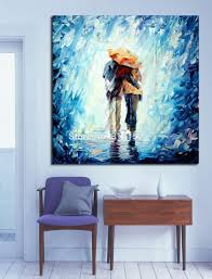 Paintings For Living Room by 100 Handpainted Abstract Oil Painting Love Couple Canvas Painting