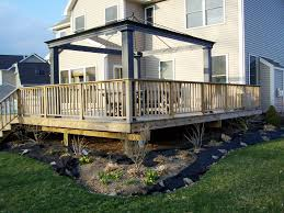 backyard decks designs u2013 home improvement 2017 simple backyard