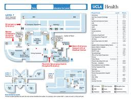 maps and directions for ronald reagan ucla medical center ucla