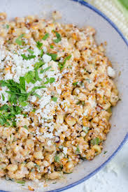 thanksgiving corn side dishes creamy mexican street corn salad easy summer side dish