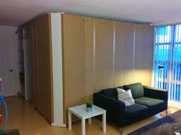 Ikea Room Divider by Extra Room Divider Made From Ikea Pax Closets Bbstraat