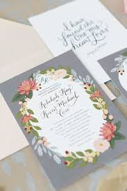 grey and pink shabby chic wedding