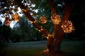 chic decorative outside lights decorative garden lighting