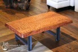 Slab Coffee Table Wood Slab Coffee Table Fieldofscreams
