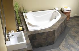 maax cocoon 60 x 54 corner soaker bathtub at menards