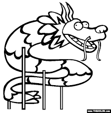 free chinese dragon coloring pages chinese