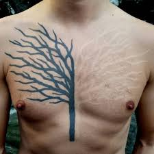 black and white tree on chest best ideas gallery