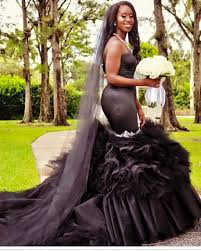ladies would you wear a black wedding dress on your big day