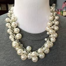 statement necklace pearl images Pearl bauble necklace statement necklace prep obsessed jpg