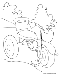 best coloring pages for kids kids tricycle coloring page download free kids tricycle coloring