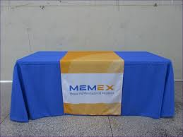dining room marvelous exhibit booth table covers custom throws