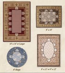 size of rug for dining room delectable ideas f rug size guide area