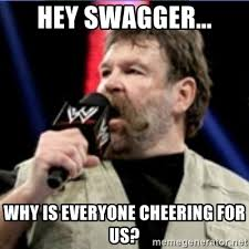 Swagger Meme - hey swagger why is everyone cheering for us controvery zeb