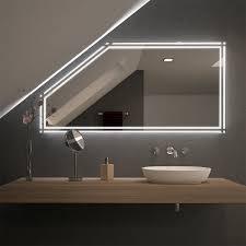 Schlafzimmer Spiegel Mit Beleuchtung Spiegel Für Dachschrägen Online Kaufen Badspiegel Shop