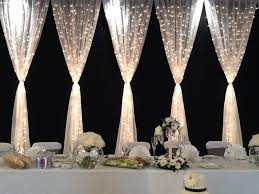 Curtains Wedding Decoration Best 25 Tulle Lights Ideas On Pinterest Gorgeous Gorgeous
