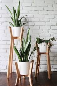 plant stand small plant stands indoor medium wood tonesmall