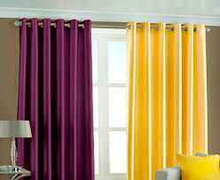 Yellow And Purple Curtains Attractive Yellow Kitchen Curtains Bedroom Ideas
