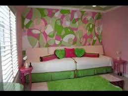 Pink And Green Bedroom Decorating Ideas YouTube - Green bedroom design ideas