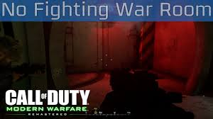 call of duty 4 modern warfare remastered no fighting in the war