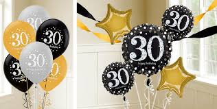 30th birthday flowers and balloons 30th birthday balloons party city