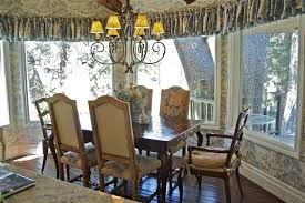 French Country Window Valances French Country Chair Slipcover Traditional Phoenix With Lined