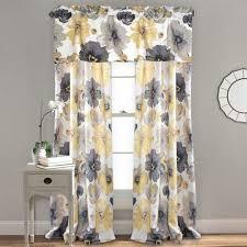 Lush Decor Leah Room Darkening Curtain Panel Pair Walmart