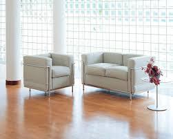 Esszimmerst Le Leder Design Cassina Lc2 Sessel Verchromt Leder Lcx Schwarz Von Le Corbusier