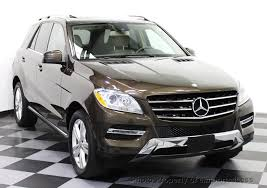 2013 mercedes suv 2013 used mercedes m class certified ml350 4matic awd suv
