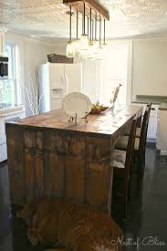 Kitchen Island Makeover Kitchen Renovation Makeover Progress Before And After Nest Of Bliss
