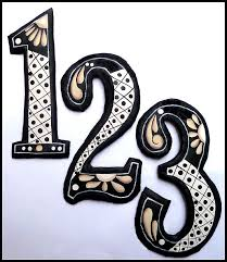 73 best decorative address house numbers address numbers