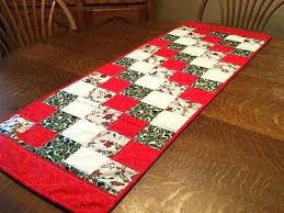 holiday table runner ideas happy patchwork printed table runner chinese style luxury cover