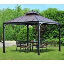 Bbq Grill Gazebo Home Depot by Gazebo New Way To Extend Your Living Space With 10 X10 Hardtop
