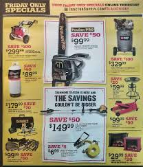 tractor supply company black friday 2018 deals and ad scan