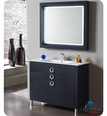 Spa In Bathroom - fresca fpvn7536cb platinum due 40 inch glossy cobalt modern