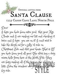 letter to santa template printable black and white grab this free printable letter from santa santa christmas