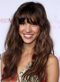 hairstyles for curly and messy hair 18 beautiful long wavy hairstyles with bangs hairstyles weekly