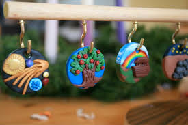 the tree and advent calendar ideas these stones