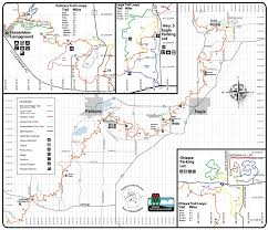 Moraine State Park Map by Palmyra Camp Kettle Moraine State Forest South Unit Trailmeister