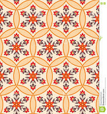 moorish seamless ornament stock vector image 78721616