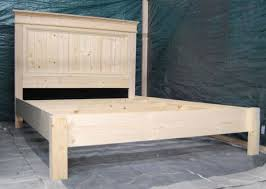 Farmhouse Bed Frame Plans White Build A S Fancy Farmhouse Bed Free And Easy Diy