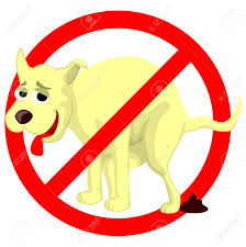 cartoon dog sign royalty free cliparts vectors stock
