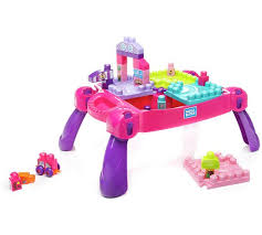 duplo preschool play table buy mega bloks build n learn table pink construction toys argos