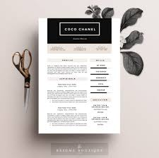 Are There Resume Templates In Microsoft Word Resume Template 5 Page Pack Cv Template Cover Letter For