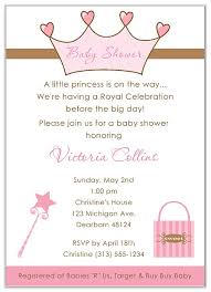 princess baby shower princess baby shower invitations baby shower