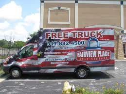 moving truck storage facilities at american self storage communities