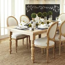 dining table pottery barn montego turned leg square dining room