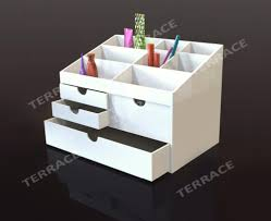 Buy Desk Accessories by White Acrylic Desk 5130