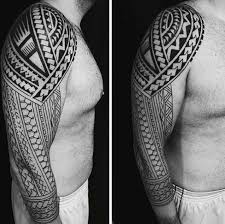 collection of 25 best tribal sleeve tattoos